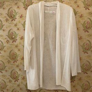 Uniqlo. French Linen cardigan